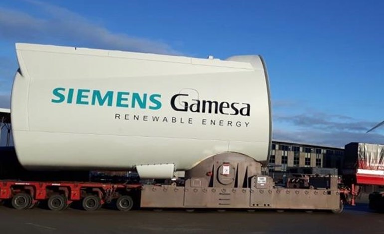 Siemens Gamesa Q2 slide