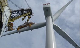 First turbine up at Galloper