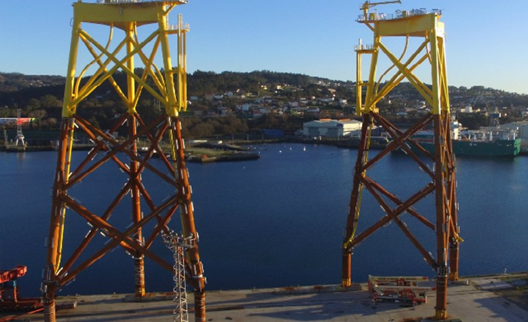 Navantia dispatches EA1 jackets
