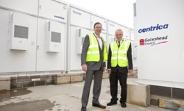 Centrica deploys Tyneside storage