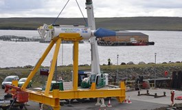 First power at Shetland Tidal Array