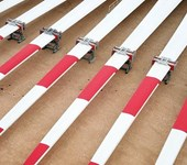 LM Wind Power 73.5-metre blades at GE's Castellon plant in Spain