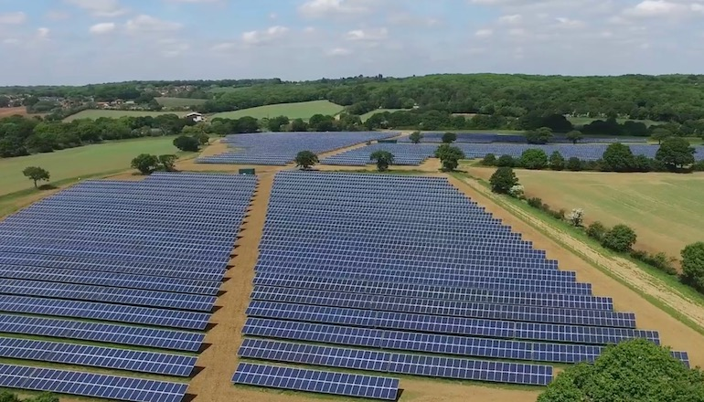 Major Kent solar farm given green light