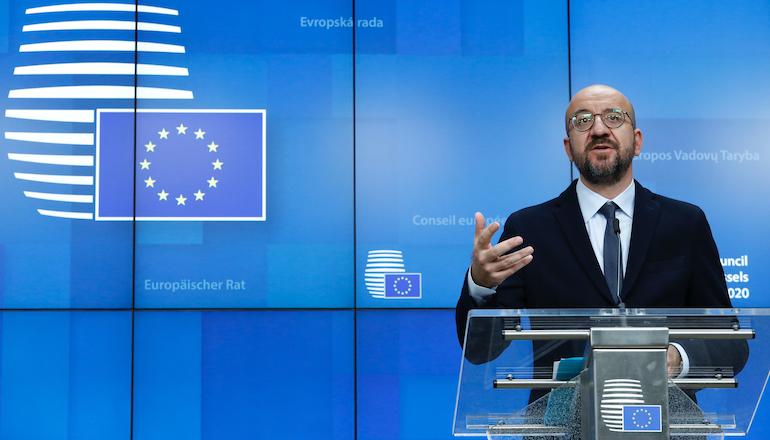 European Union leaders struggle to break deadlock on climate deal