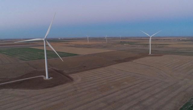 Kansas wind farm to power vaccine manufacturing